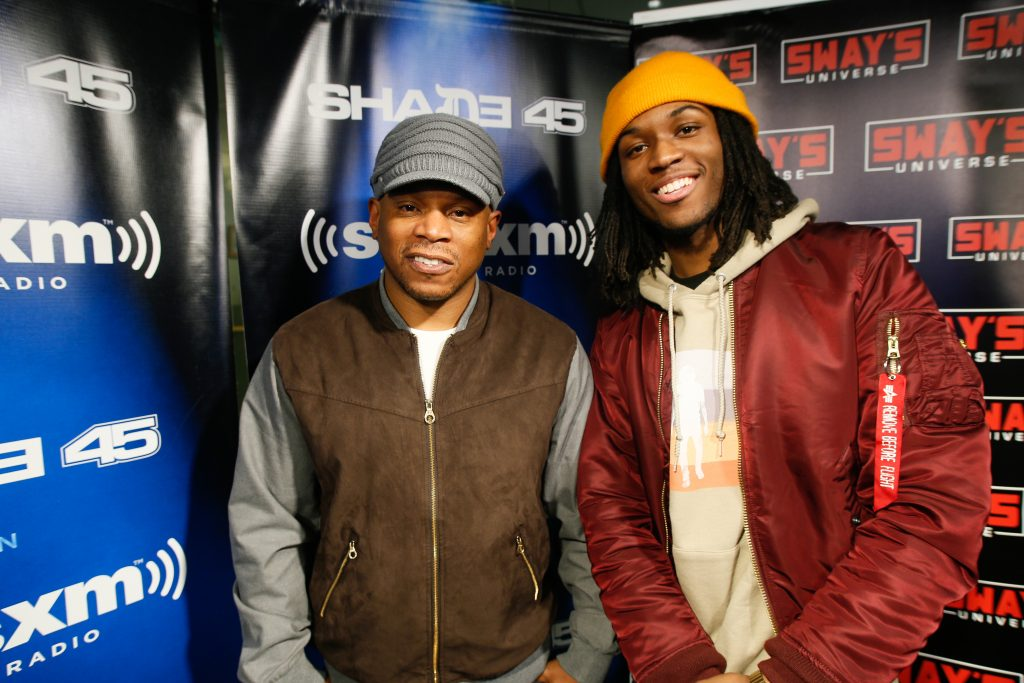 Saba Interview and Freestyle on Sway in the Morning