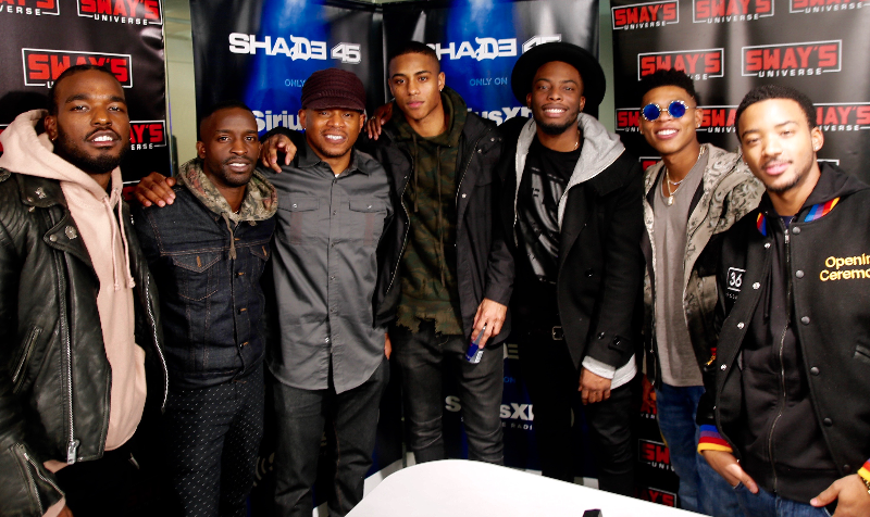 The New Edition Cast Interview + Freestyle Battle