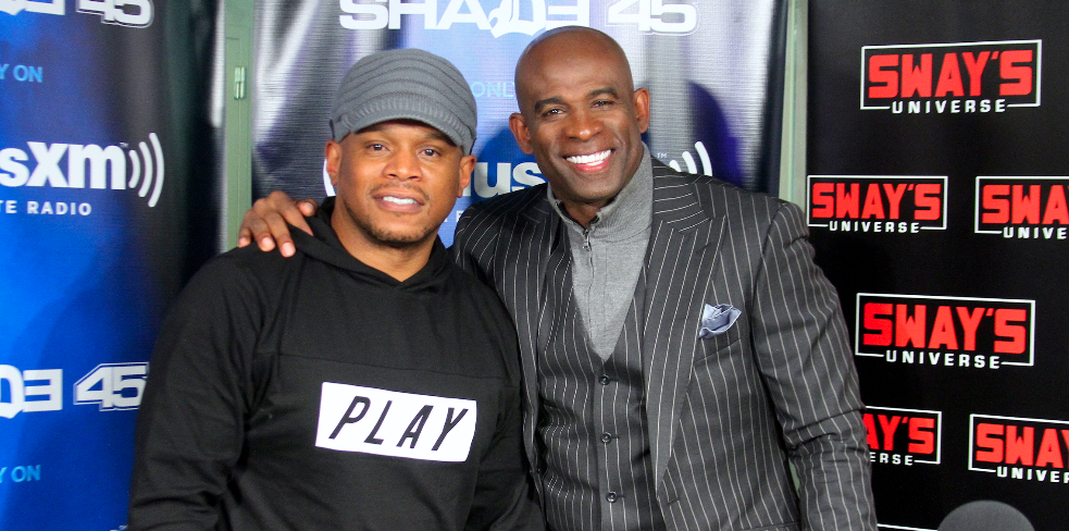 Deion Sanders Raps Live + Talks Football on Sway in the Morning