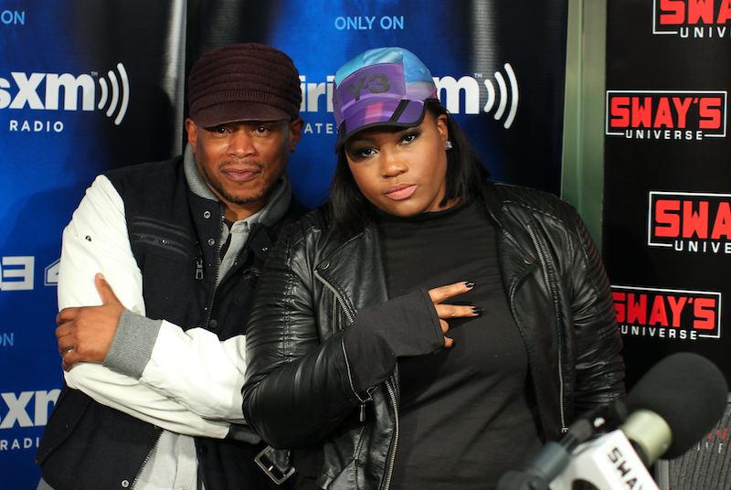 Crystal Caines Freestyle and Interview on Sway in the Morning