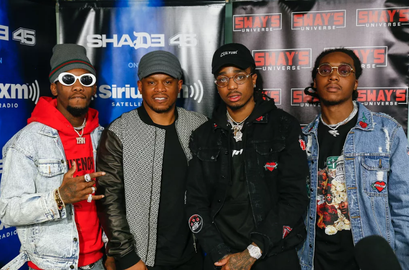 Migos FREESTYLE Live on Sway in the Morning