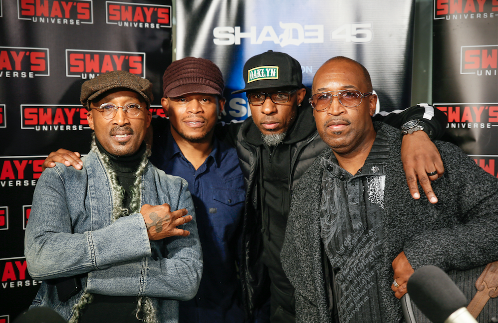 Tony! Toni! Toné! Interview on Sway in the Morning