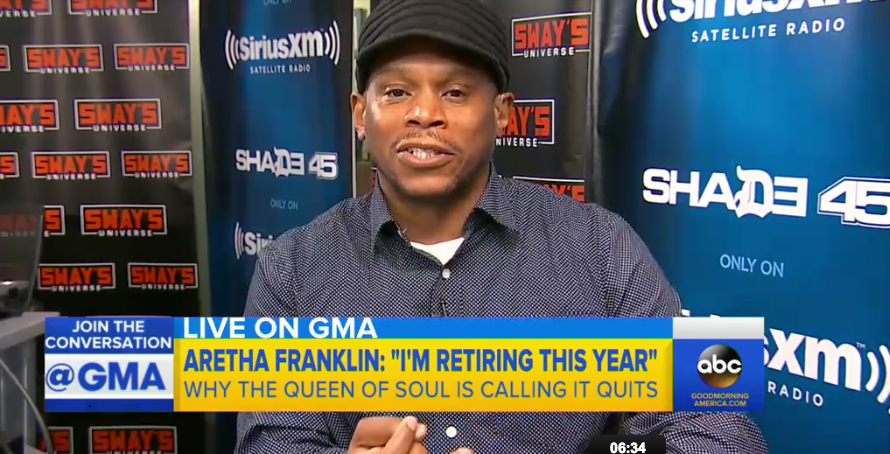 Sway Joins GMA To Speak on Beyonce's Lawsuit & The GRAMMYs