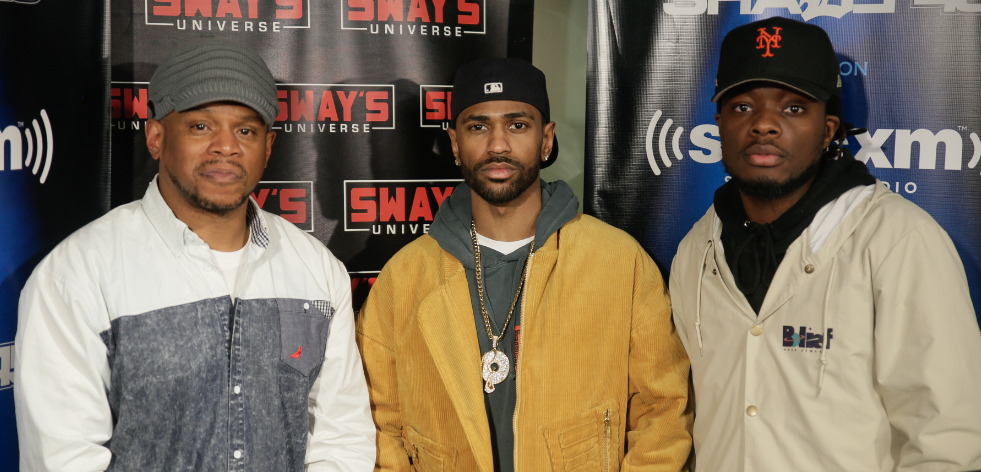 Big Sean Judges Rising Rapper Oswin Benjamin Live On-Air