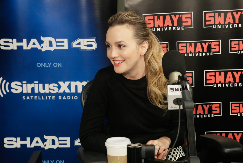 Leighton Meester Talks Time Travel, Social Media & Oochie Wally