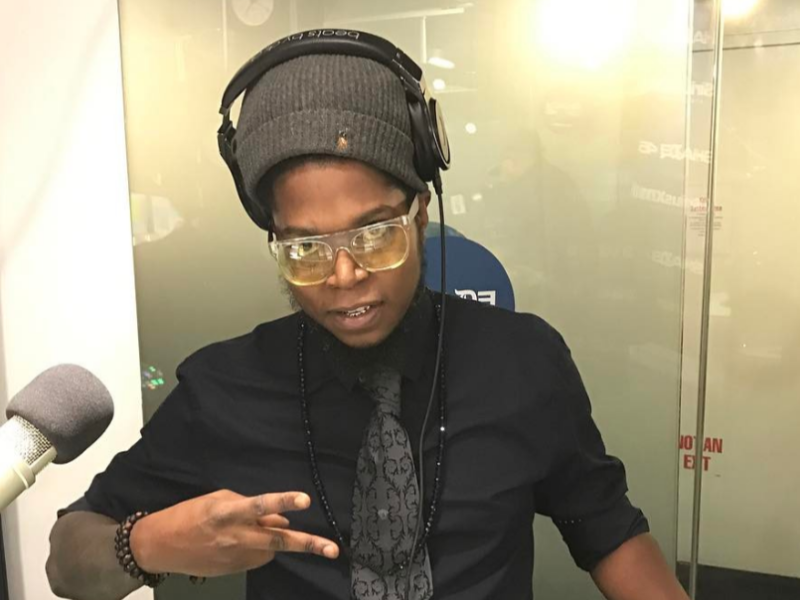 Seth Dynomite Mixes Live on Sway in the Morning