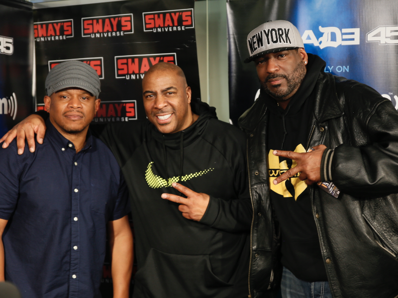 Comedians Talent and Capone Hilarious Interview on Sway in the Morning