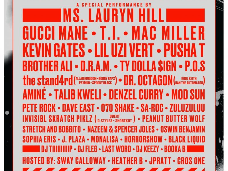 Lauryn Hill, Travis Scott & Atmosphere to Headline Soundset 2017