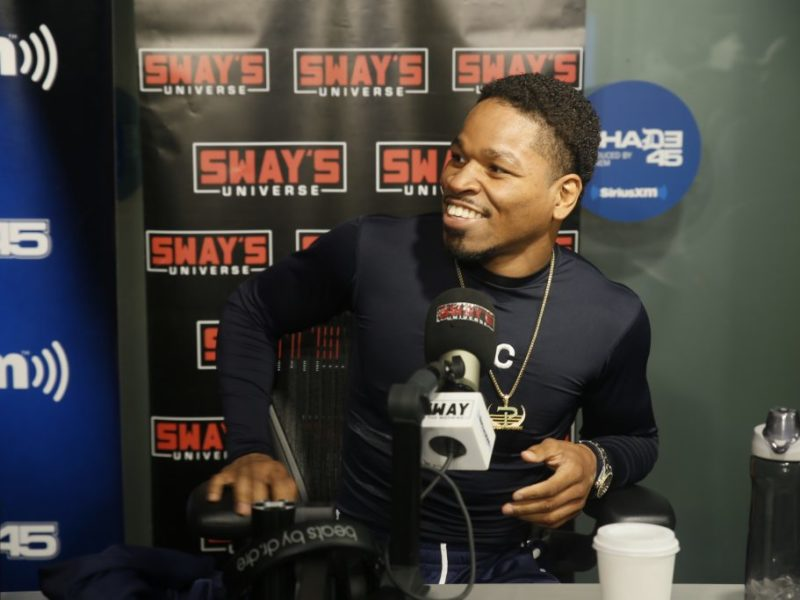 Shawn Porter Speaks on Andre Berto & Keith Thurman Jr + Boxing Secrets & Advice from Father