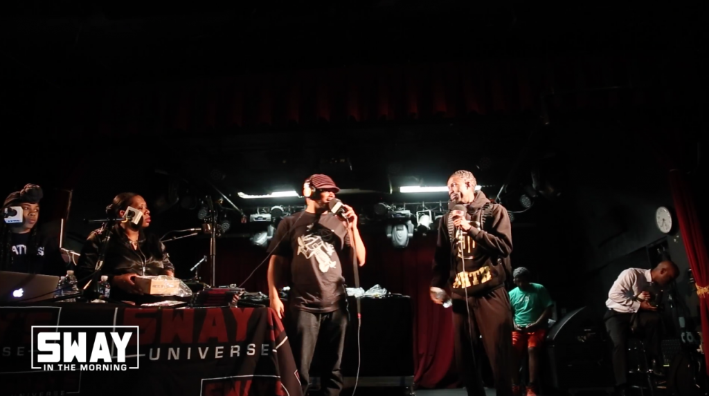 Sway Takes Denver: Colorado Locals Freestyle Live (Cypher 1)