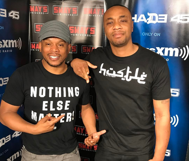 DJ E Feezy Mixes Live on Sway in the Morning