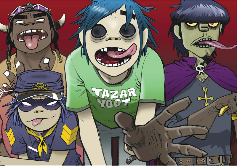 The Gorillaz Speak On Their Animated Journey, Working With Legends + Freestyle Live