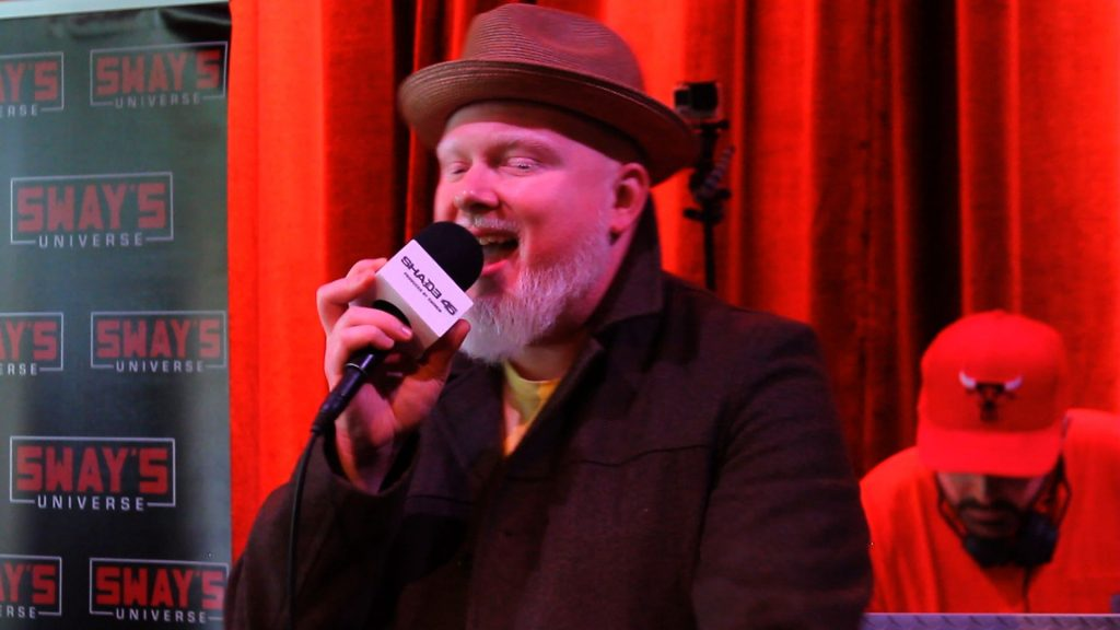 Live in Minneapolis: Brother Ali Spits Over 5 Fingers Of Death on Sway in the Morning