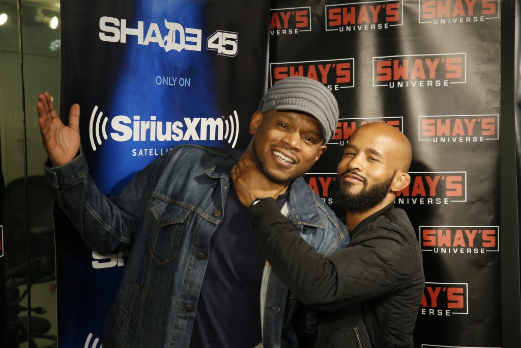 DJ C Flo Mixes Live on Sway in the Morning