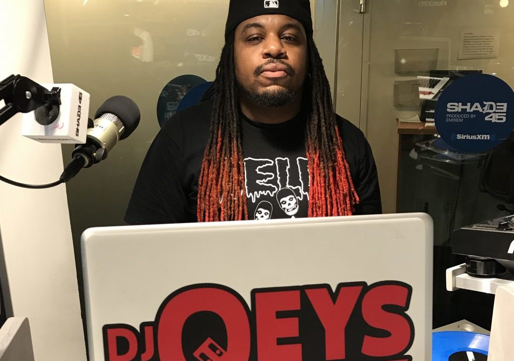DJ Qeys Mixes Live on Sway in the Morning