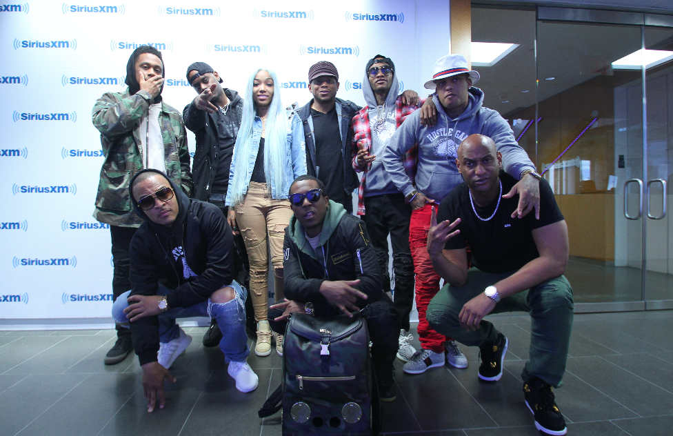 T.I.'s Hustle Gang Takeover Sway in the Morning & Freestyle Live