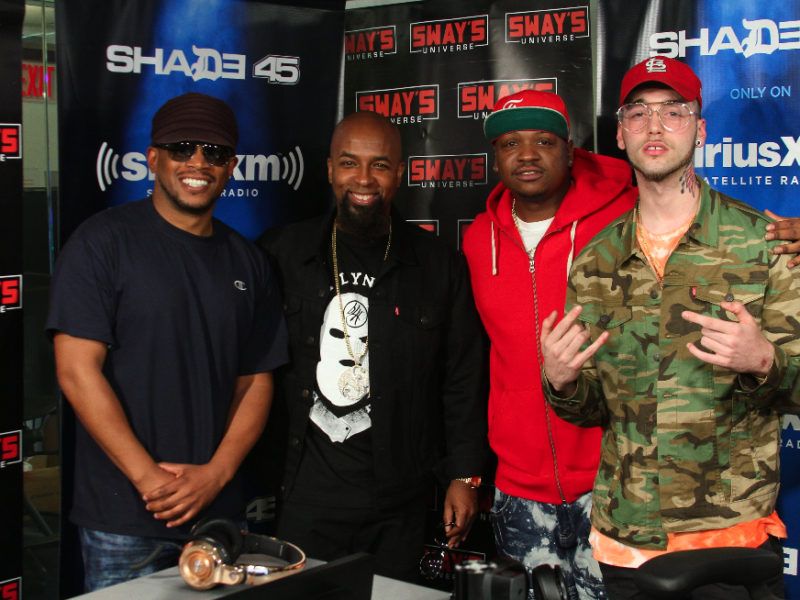 Tech N9ne, Stevie Stone & Darrein Safron Freestyle on Sway in the Morning