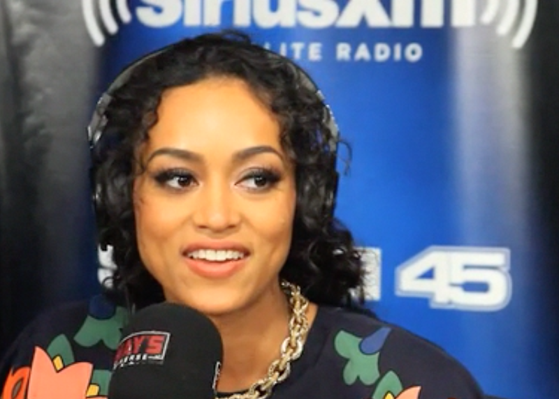 Miss USA Raps on Sway in the Morning