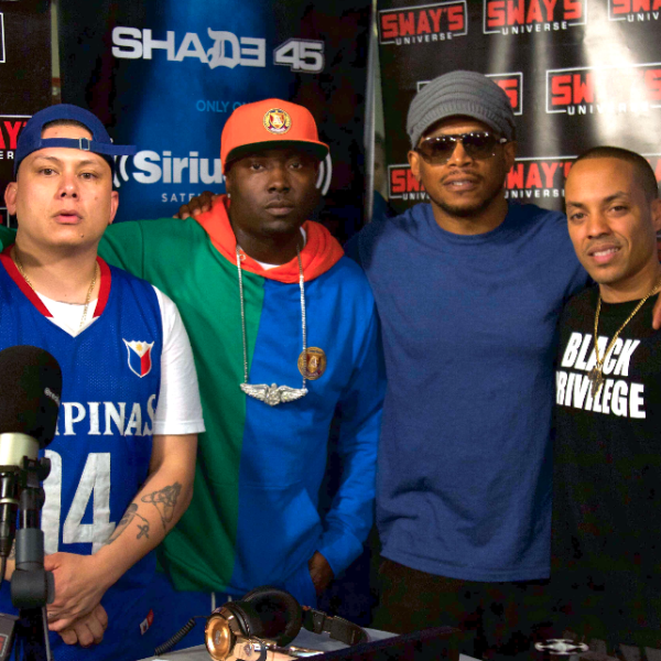 DJ Casper Mixes Live on Sway in the Morning