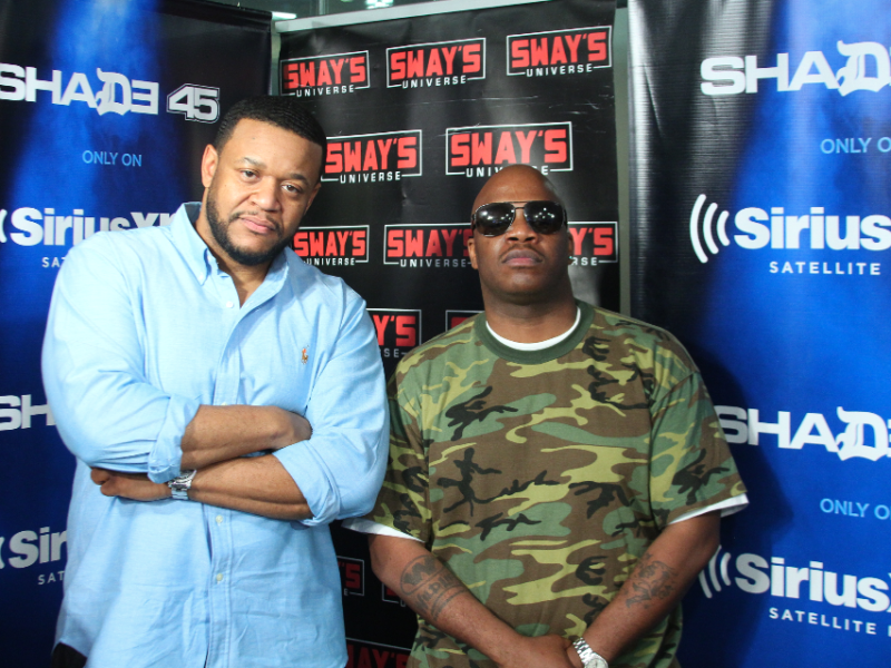 Showbiz (of D.I.T.C) & Molecules (of the Legion) Reveal Hip-Hop History on Sway in the Morning