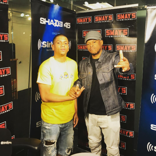 DJ Topshelf Mixes Live on Sway in the Morning