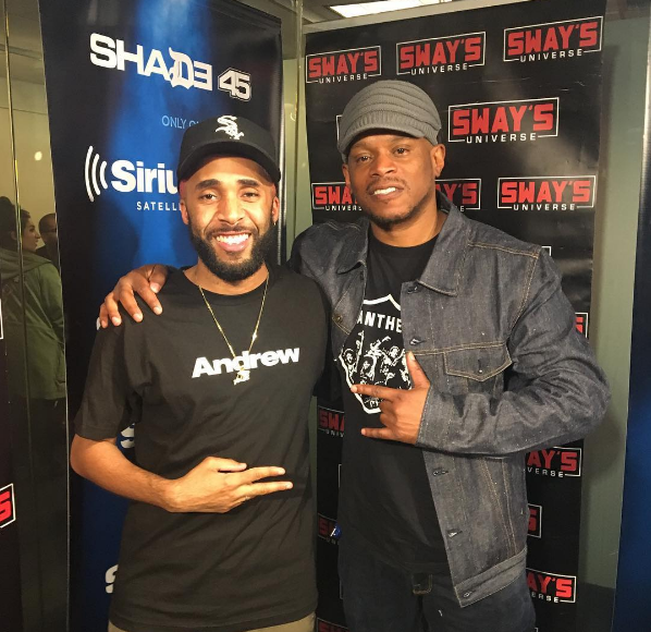 Just Dimy Mixes Live on Sway in the Morning