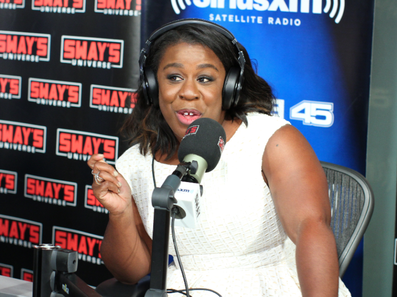 Uzo Aduba (Crazy Eyes) Opera Freestyles on Sway in the Morning