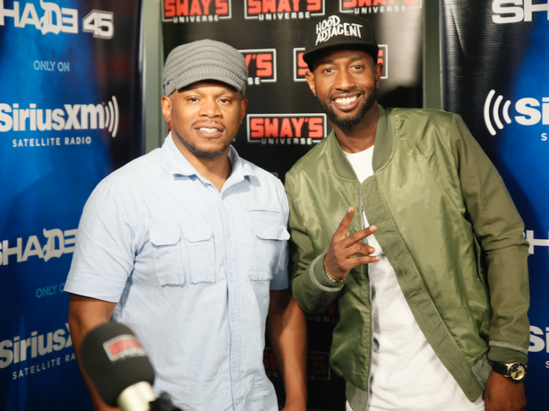 "The Hilarious James Davis Speaks on Creating ""Hood Adjacent"" & Freestyles Live on Sway in the Morning"