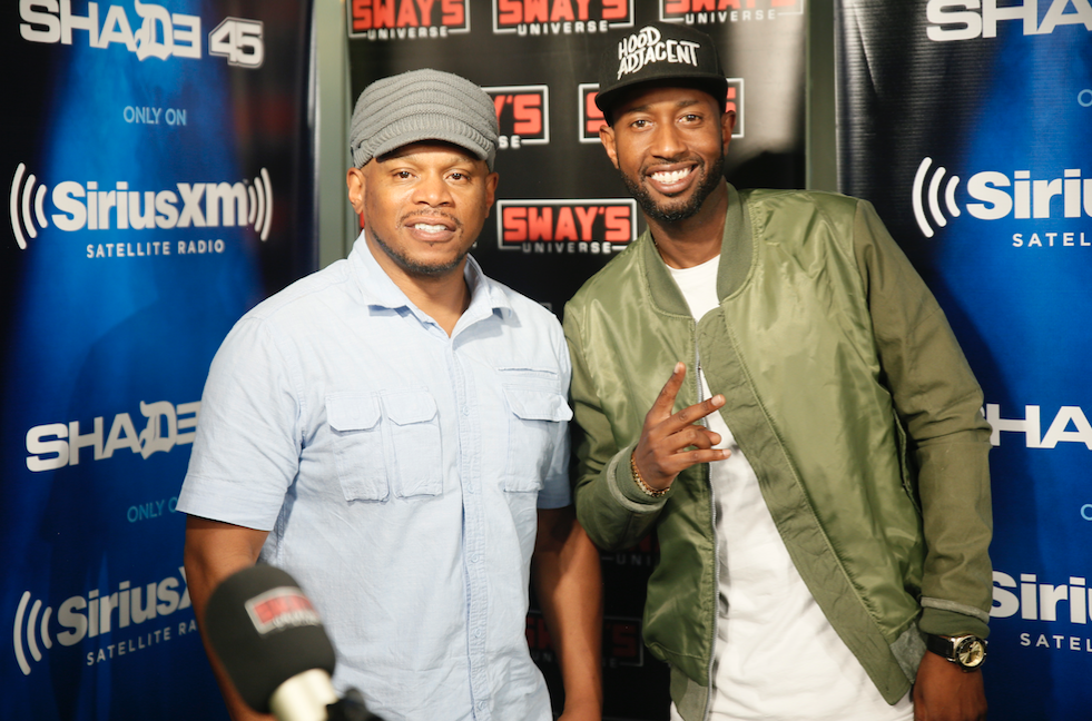 """The Hilarious James Davis Speaks on Creating """"Hood Adjacent"""" & Freestyles Live on Sway in the Morning"""