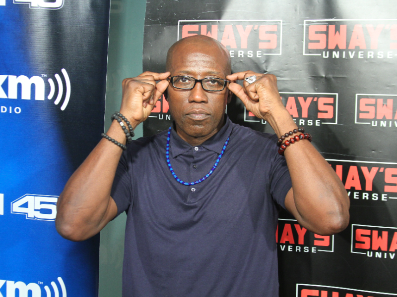 "Wesley Snipes Talks New Novel ""Talon of God,"" Not Working with Denzel Washington + Tax and Prison"