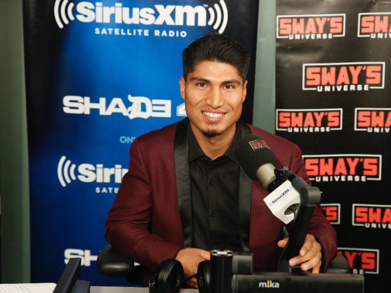 Mikey Garcia Talks About Growing Up in A Family of Boxers + Anticipating His Fight Against Adrien Broner