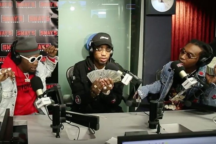 Rewind: Migos Defend Their Style of Rap & Freestyle Live on Sway in the Morning
