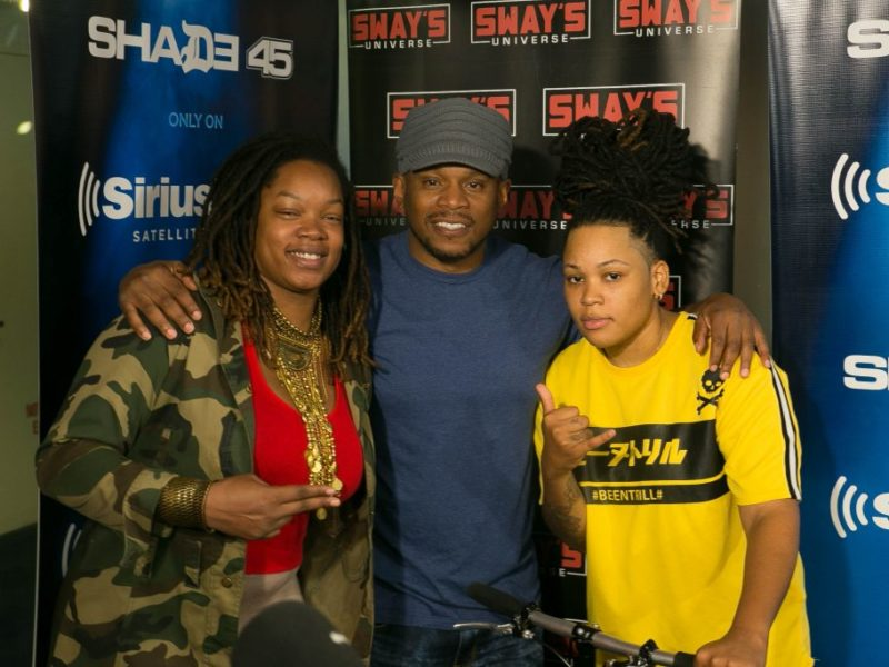 Friday Fire Cypher: Cipherella & Pineapple Citi, Show Off Their Skills By Spitting Fire Freestyles + K Salaam Stops by To Discuss His Recent Endeavors