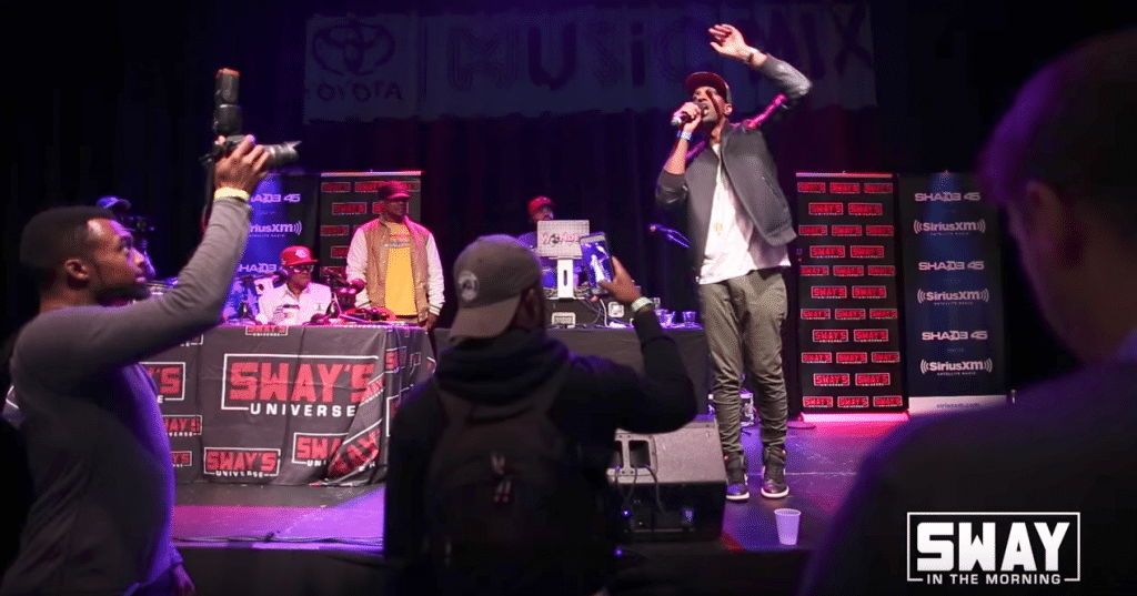 Sway in Chicago: J Ivy Performs Spoken Word and Talks New Projects