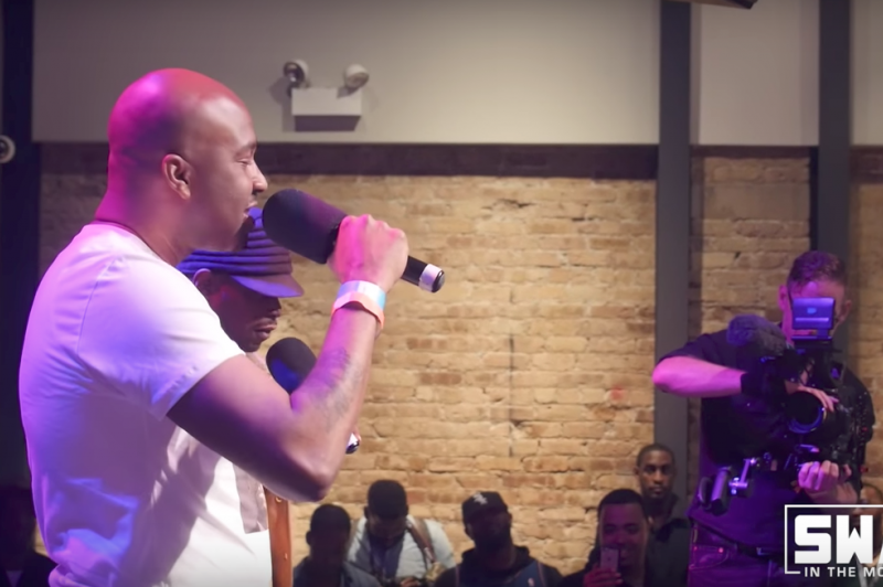 "Sway in Chicago: GLC on His New Project ""The Book of St iSM"" + Performs Live ""The Flow"""