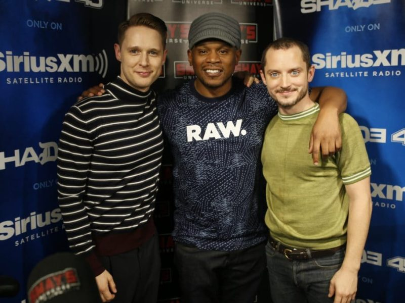 Samuel Barnett and Elijah Wood Talk Religion, Upcoming Season of 'Dirk Gently's Holistic Detective Agency' + Chime In on Horror Movie Questions on Sway In The Morning