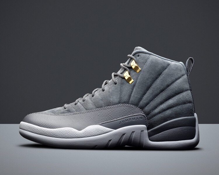 Wolf Grey Air Jordan XII Release November 18th