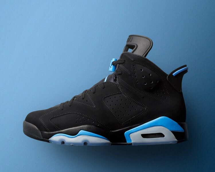 Air Jordan VI Black & University Blue Set To Release December 2nd