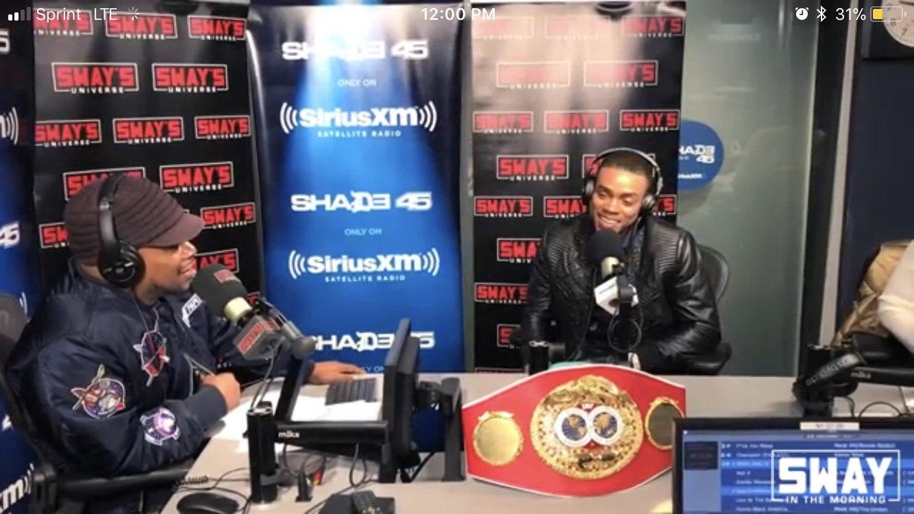 IBF Welterweight Champ Errol Spence Jr. Talks His Next Fight with Lamont Peterson