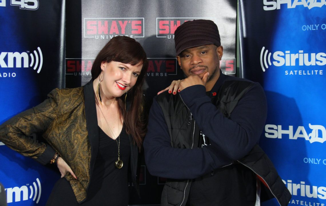 Selectress Iriela Mix on Sway In The Morning