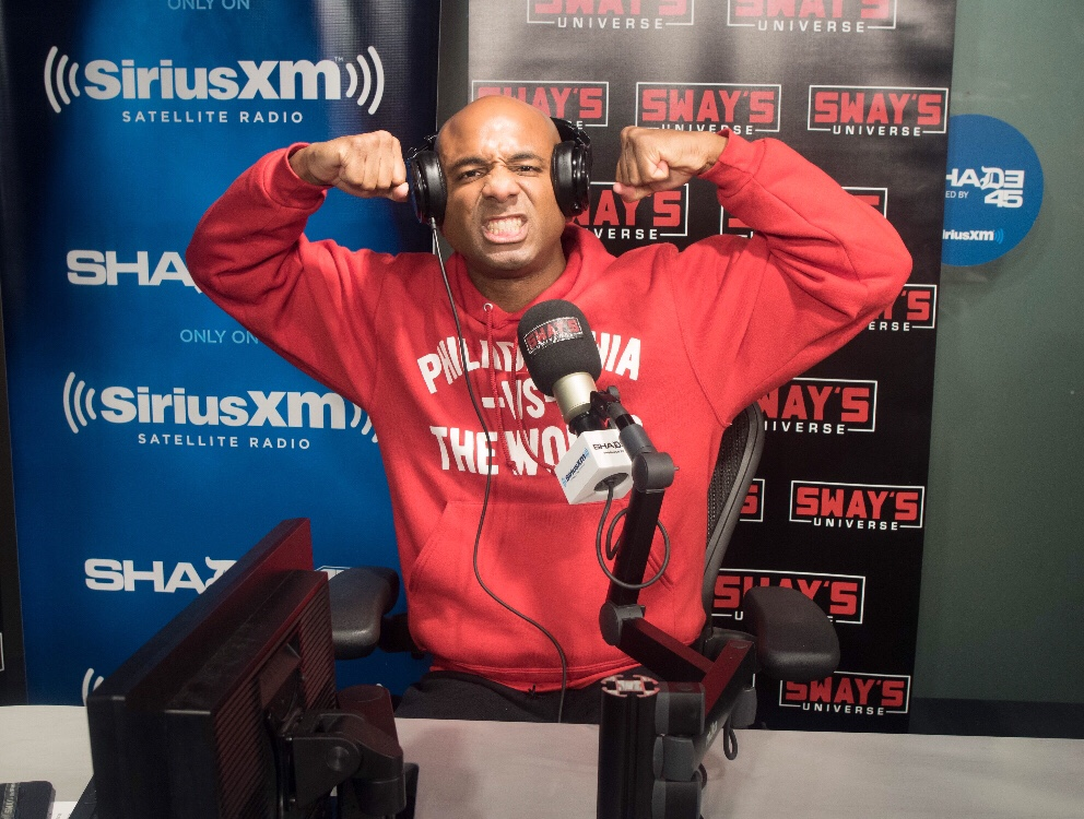 The Infamous Wallo267 Stopped By To Motivate and Inspire on Sway In The Morning