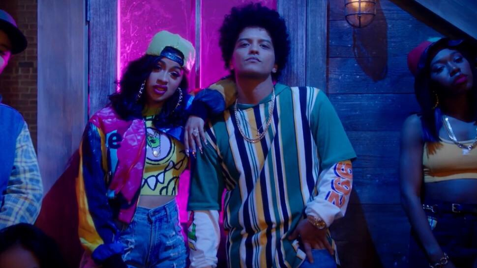 "Bruno Mars and Cardi B Drop In Living Color Inspired ""Finesse"" Remix Video"
