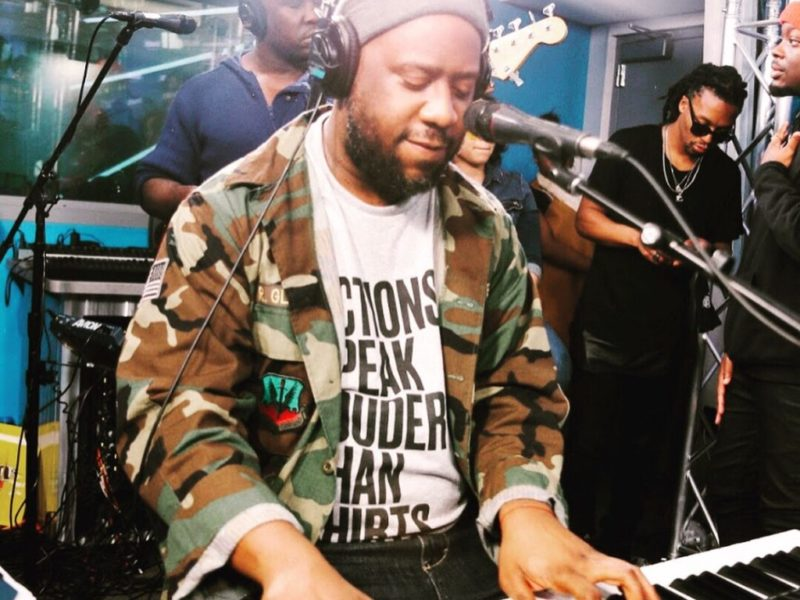 Sway In The Morning Jam Session: Robert Glasper, Anthony Hamilton, Lupe Fiasco, Rapsody, Fred The Godson, Chris Rivers, Vina Love, Oswin Benjamin & Jussie Smollett