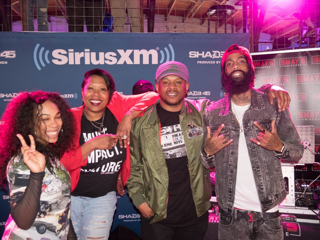 Quincey White and AKA Hit the Sway In The Morning 2018 SXSW Stage