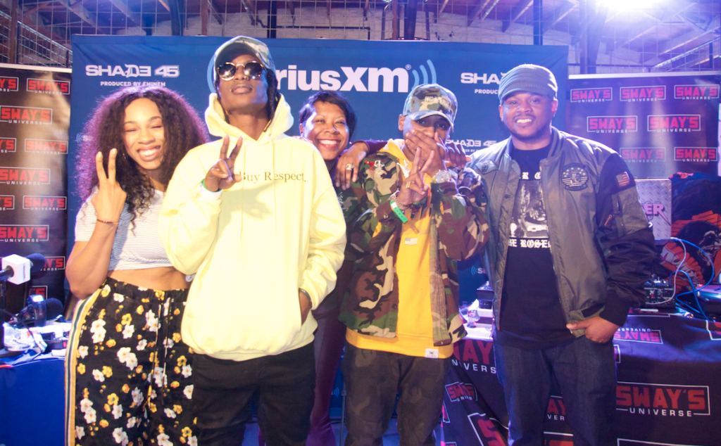 Audio Push and Jayy Grams Perform at Sway In The Morning Live From SXSW 2018
