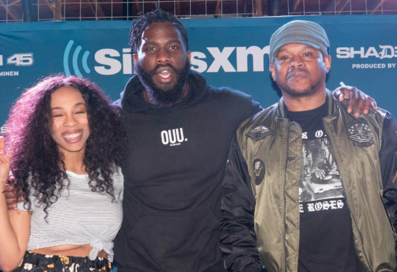 Tobe Nwigwe and Kwesta Light Up The Sway In The Morning SXSW Stage