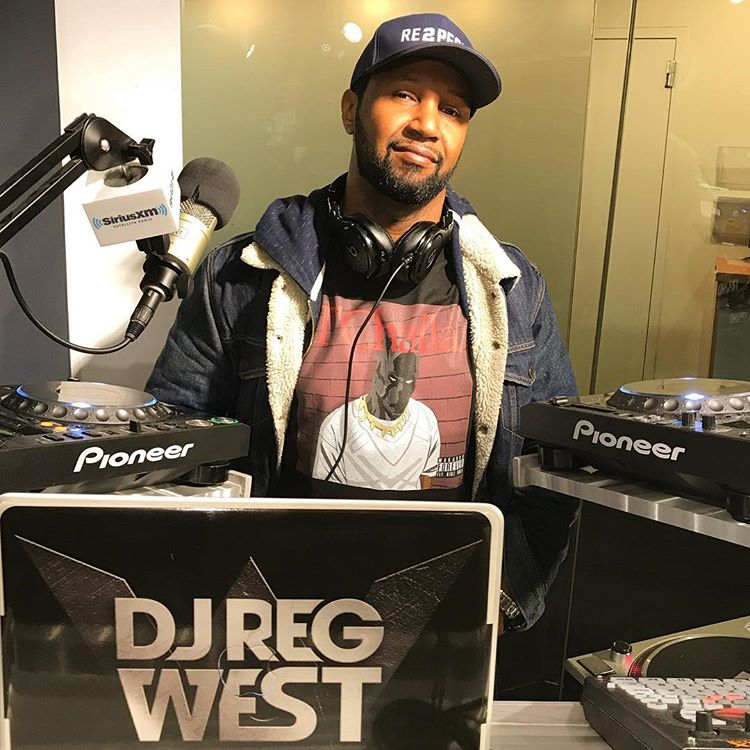 DJ Reg West Sway in The Morning Mix