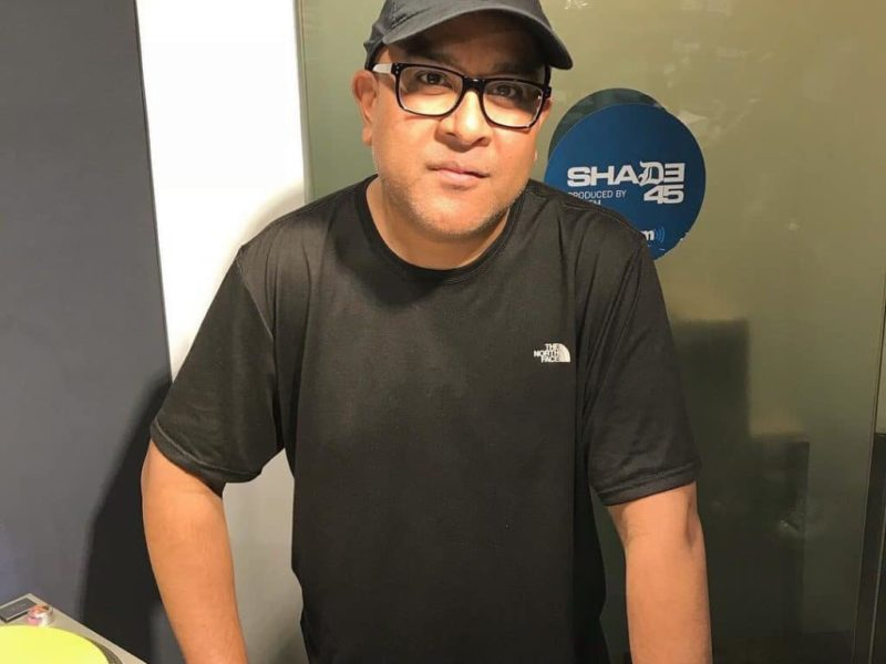 DJ Rawn Mixes Live on Sway In The Morning