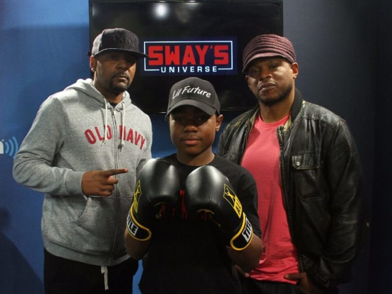 "Boxing Phenom Jamir ""Lil Future"" Robertson Is Taking On All Challengers"