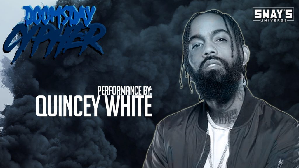 "Doomsday Cypher '17: Quincey White Performs ""Los Scandalous Times"""